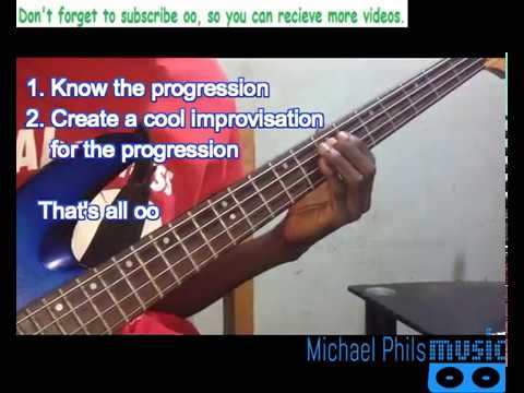 Download How to play Nigerian gospel praise songs on the bass guitar