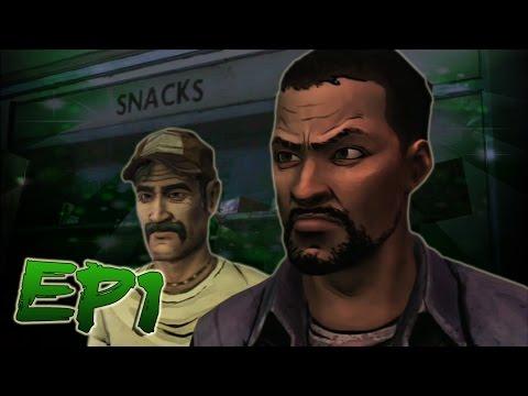 """Lee The Asshole"" (Kenny's BestFriend, Carly's BoyFriend) - The Walking Dead Game Ep 1"