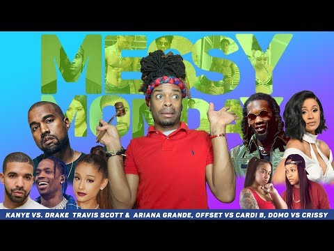 DRAMA ALERT! Kanye attacks Ariana, Drake & Travis..Domo vs Crissy & MORE |MessyMonday