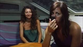 Gambar cover Sailing Into Freedom   Episode 22 Plukky & the Italian girls, Food Challenge part 2