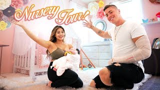 BABY NURSERY ROOM REVEAL!!! **AMAZING**