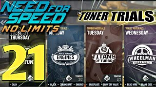 NEED FOR SPEED No Limits - TUNER TRIALS | Episode 21