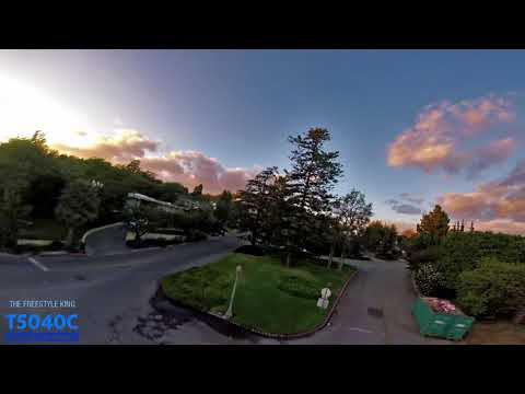 First real flight with the T5040C