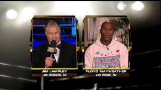 Mayweather Interview