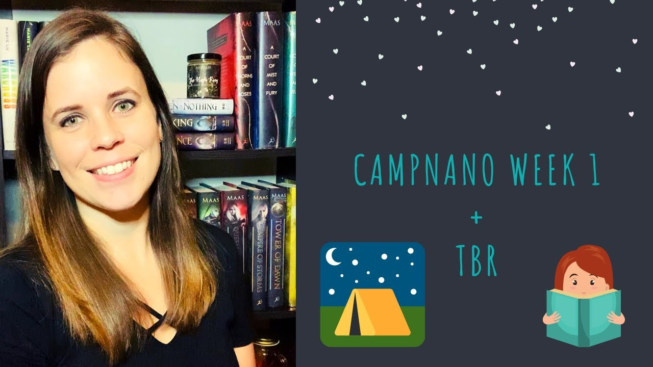CampNaNo 2021 Week 1 + April TBR