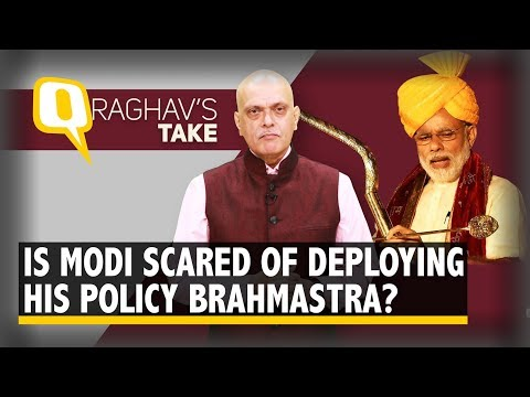 Why is Modi Not Deploying Brahmastra to Fix Oil, Rupee and IL&FS? | The Quint