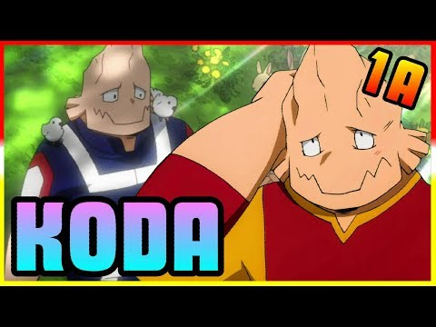 Class 1 A Koji Koda My Hero Academia Discussion Youtube