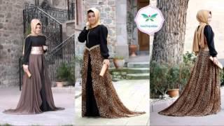 Pınar Şems Tesettür Elbise Modelleri Asil Bayanların Tercihi