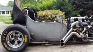Quad Turbo Big Block powererd T walk around.wmv