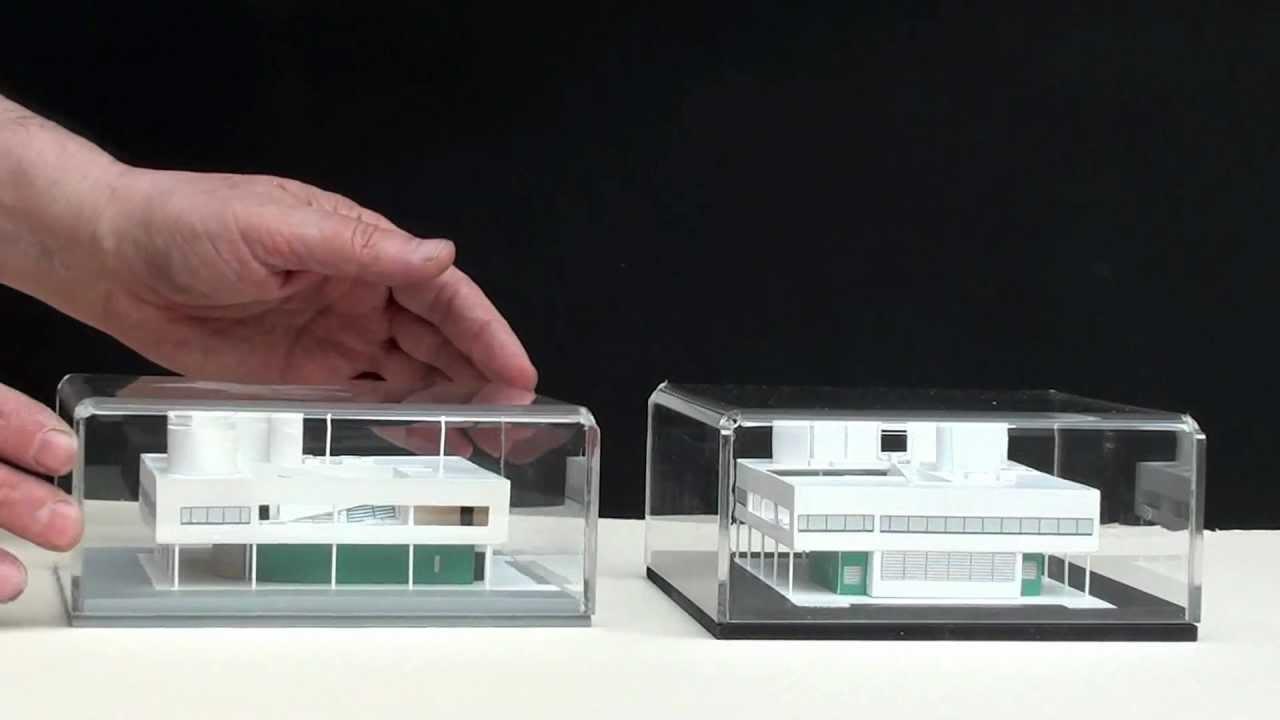 Bien-aimé Le Corbusier, Villa Savoye, scala 1:200 - - YouTube OE57