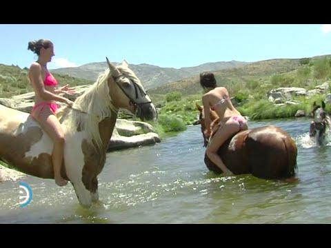 Chapuzón a caballo - Sierra de Gredos