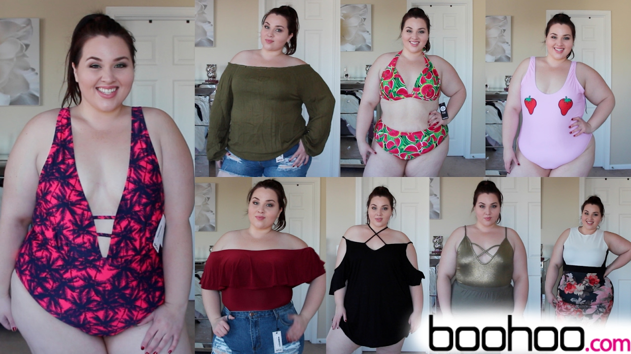 af895cfa6bc Boohoo Try-On Haul: Spring Break Edition |Plus Size Fashion| - YouTube