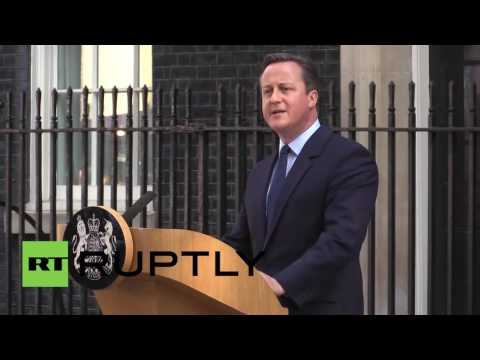 UK: Cameron announces resignation after Britain votes Brexit
