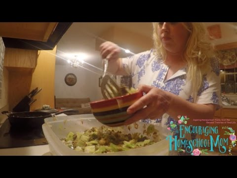 Egg Roll in a Bowl Recipe | Large Family Cooking and Trim Healthy Mama Inspired!