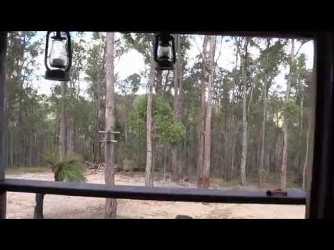 SECRET OFF GRID HOUSE.  Australian Bushland Property