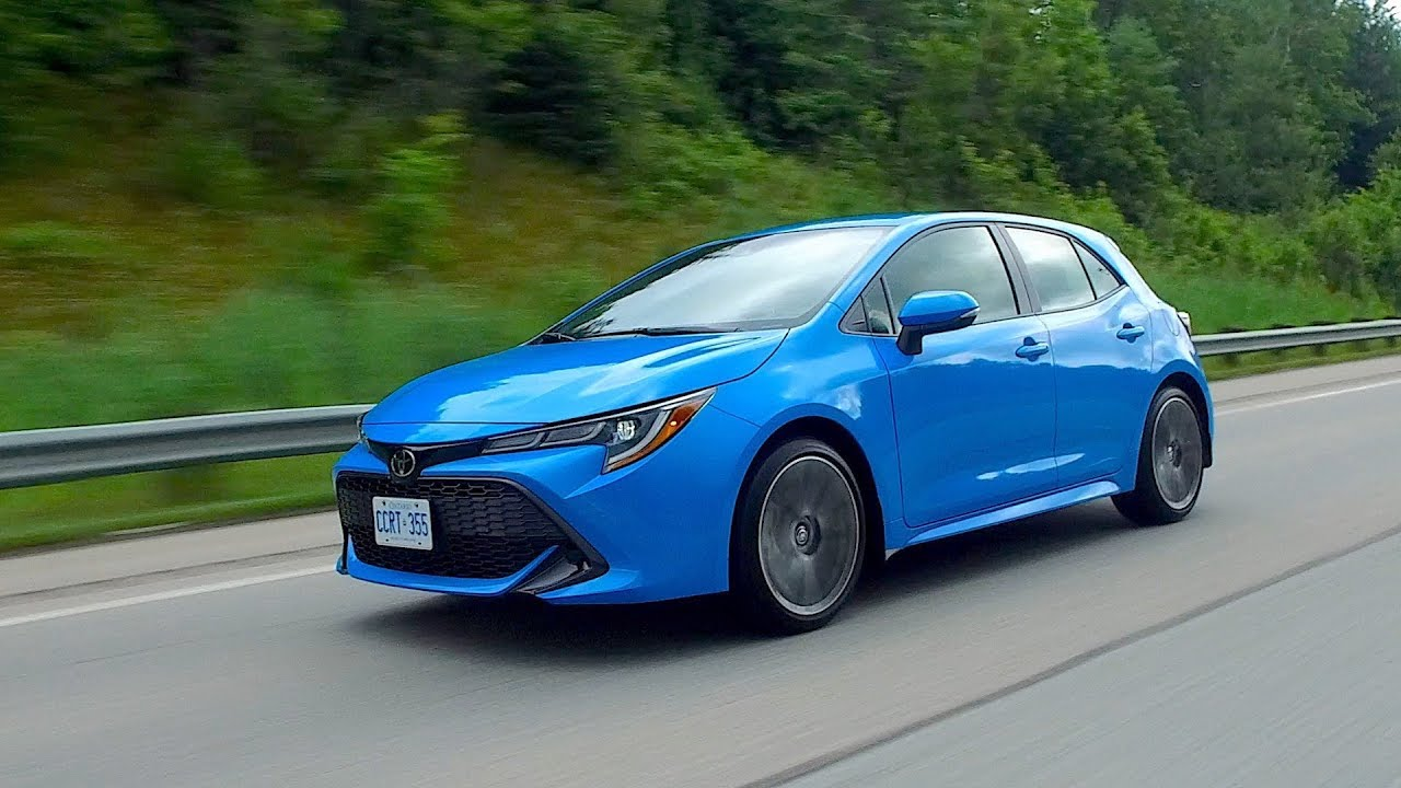 All New Toyota Corolla Hatchback Review Youtube