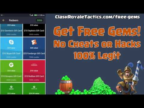 Get Free Gems the Legit way – no hack or cheats – Clash Royale