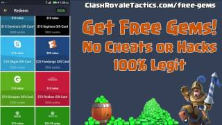 Get FREE Gems In Clash Royale - NO HACKS - 100% Legit
