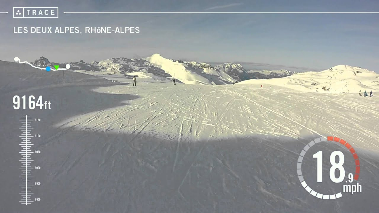 Trace skiing jordan fulton at les deux alpes youtube for Garage les deux alpes