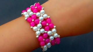 How To Make Bracelet//Bridal Bracelet// Useful & Easy