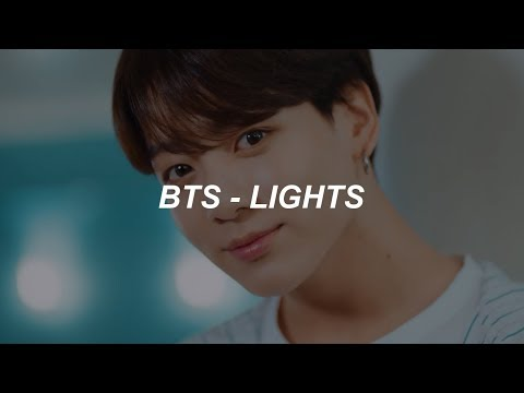 BTS (방탄소년단) 'Lights' Easy Lyrics