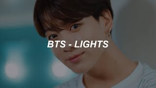 Cover images BTS (방탄소년단) 'Lights' Easy Lyrics