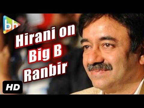 """It's So Difficult To Direct Amitabh Bachchan"": Rajkumar Hirani"