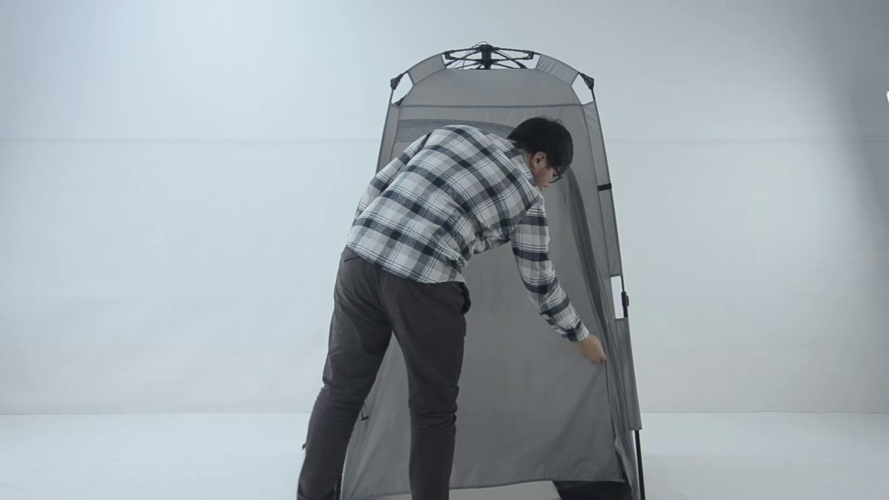 toilet tent & toilet tent - YouTube