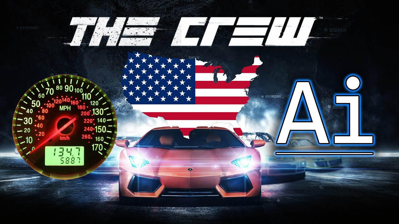 The Crew How Big Is The USA Map Really YouTube - The crew us map