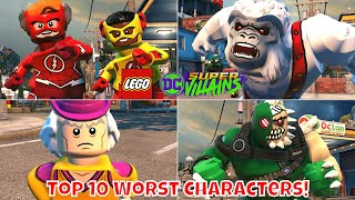 Top 10 Worst Characters in LEGO DC Super Villains