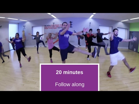 25 minute, follow along bhangra workout