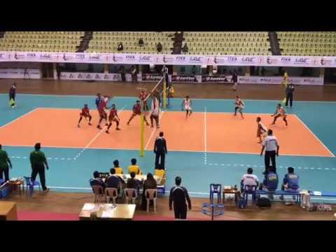 central zone volleyball nepal vs maldives (2nd set)