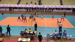 central zone volleyball nepal vs maldives (2nd set)