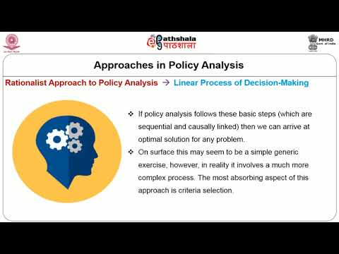 Policy Analysis Meaning and Scope