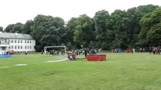 Powiatowe zawody sportowo-pożarnicze Pszczela Wola 2011 - ćwiczenie bojowe - OSP Świdnik Duży