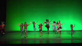Repeat youtube video NUNCA JAMAS - MUSICAL PETER PAN -  FESTIVAL BALLEM O QUE? 2015