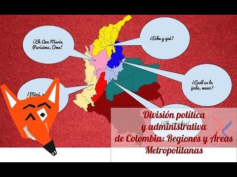 Regiones y Áreas