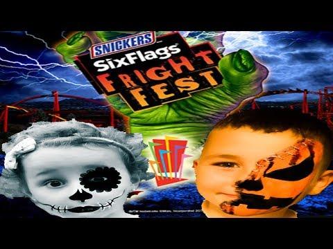 Six Flags Great America: Fright Fest 2017