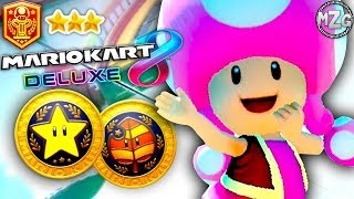 Star & Leaf 200cc Cups! Toadette! - Mario Kart 8 Deluxe Gameplay - Episode 21