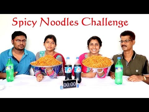 SPICY Noodles Eating Challenge || Food Challenge India || Eating Show