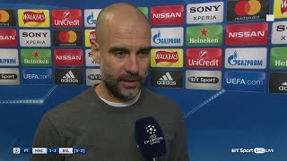 """We forgot to attack.""  - Pep Guardiola isn"