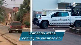 La agresión se reportó a las 14:45 horas de este viernes en los límites de las comunidades de Patamban y Ruíz Cortines
