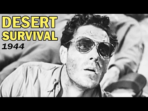 How to Survive in the Desert | Desert Survival Training Film | USAAF | 1944