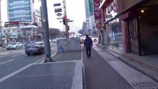 Walking in Busan, South Korea