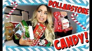 DOLLARSTORE Christmas Candy TASTE TEST!!!!