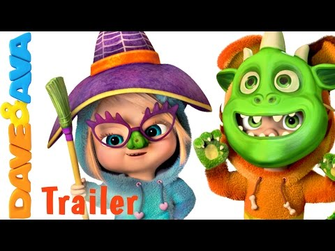Halloween Song for Kids - Trailer | Nursery Rhymes and Halloween Songs from Dave and Ava