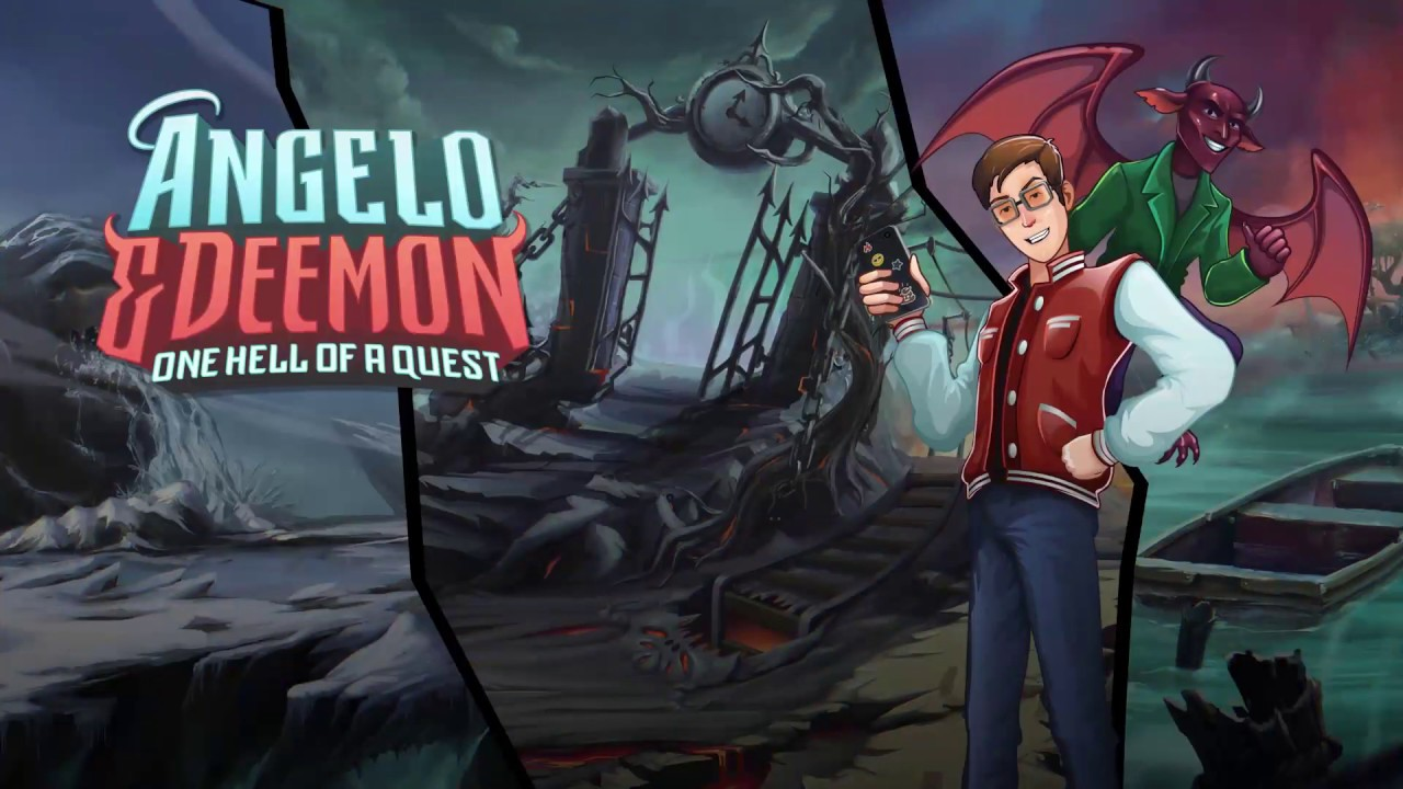 Angelo and Deemon: One Hell of a Quest mobile trailer