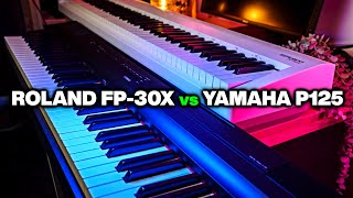 Is Roland FP-30X REALLY Better than Yamaha P-125 Digital Piano?