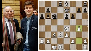Г.Каспаров-М.Карлсен. 2-я партия спустя 16 лет!  Champions Showdown: Chess 9LX 2020 Шахматы.