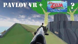Gun Game on Outset Island? Custom Wind Waker Map on Pavlov VR! Valve Index Gameplay